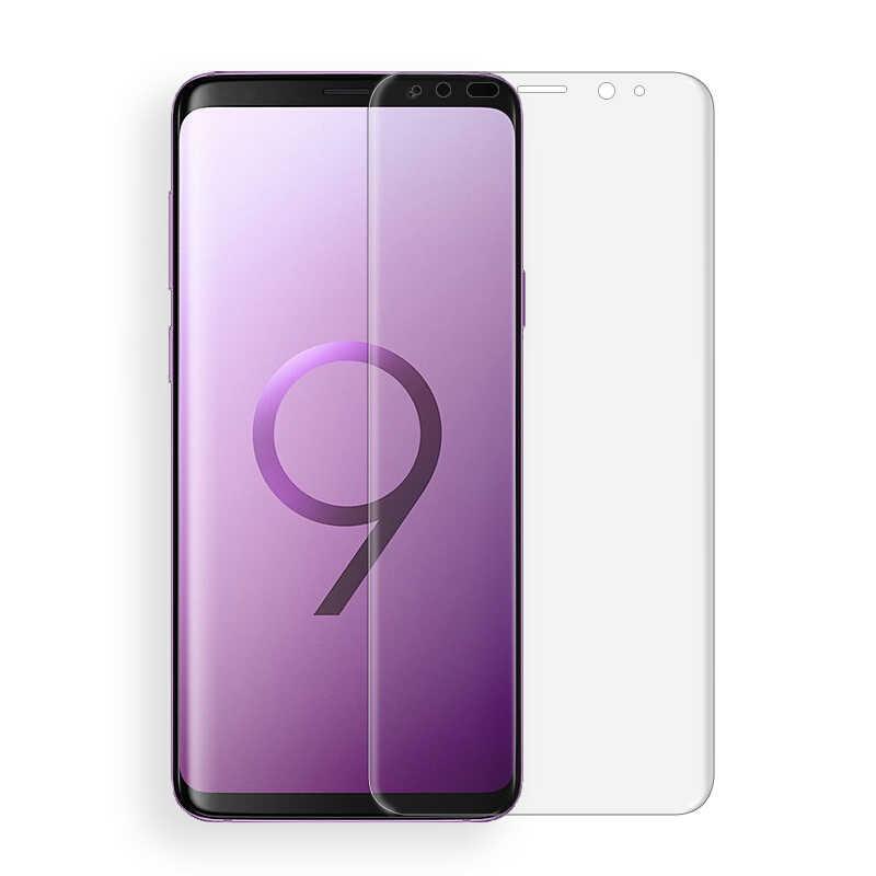 Film souple 3D incurvé pour animaux de compagnie pour Samsung S9 S8 plus S7 Note S6 edge plus Note8 clair couverture complète accessoires pour écouteurs