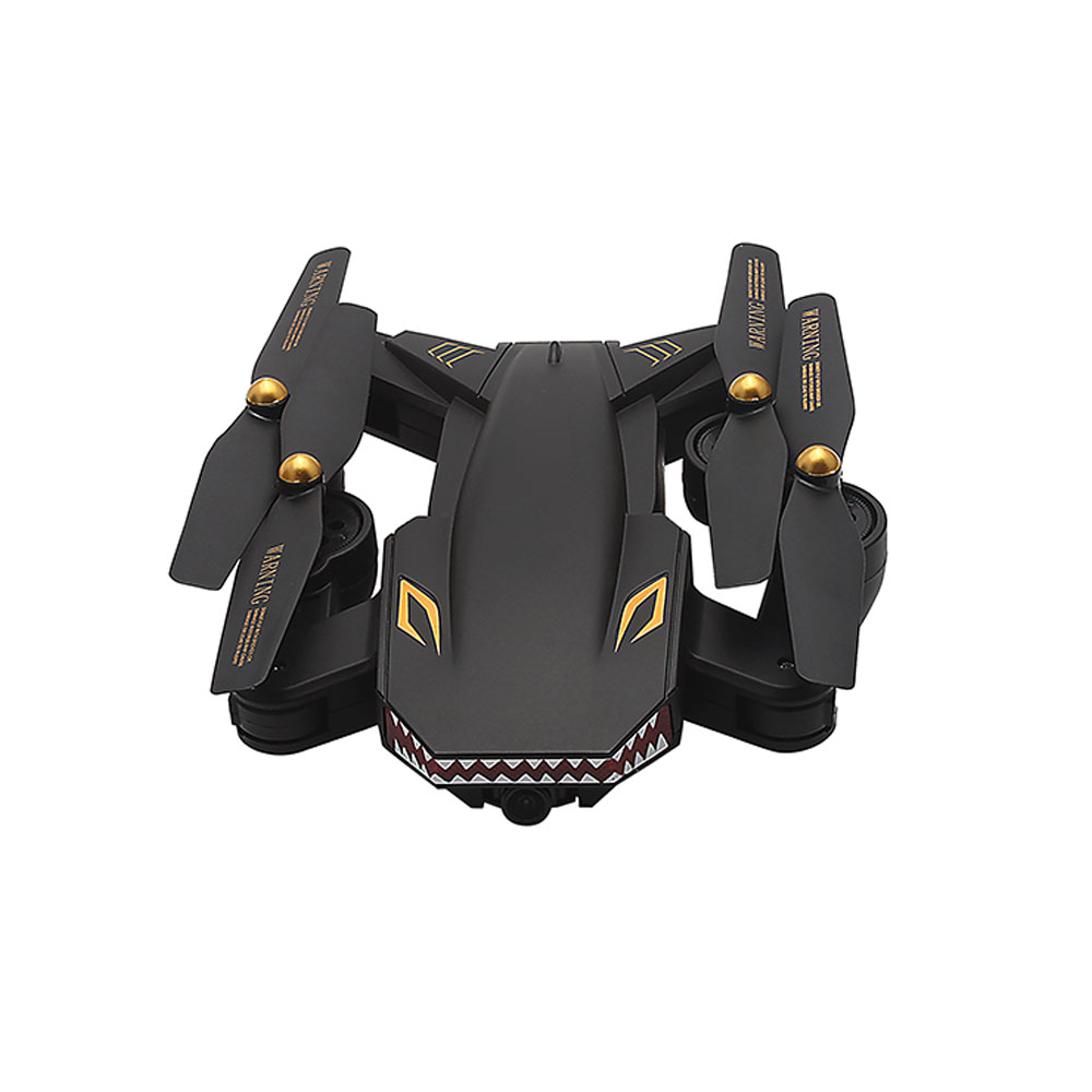 cheapest XS809S quadrocopter WiFi Wide Angle 2 Megapixel Version Shark Head cartoon drone with camera Foldable Drones Quadcopter RC Dron