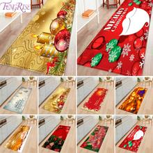 2019 Christmas Flannel Carpet Outdoor Carpet Doormat Santa Ornaments Christmas Rug Flannel Floor Mat Christmas Gifts New Year цена 2017
