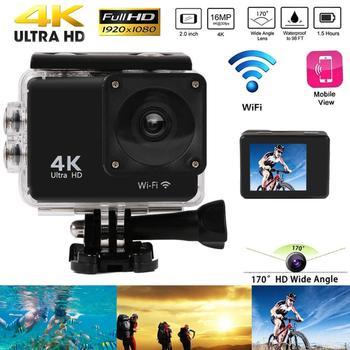 Κάμερα buyincoins action ultra hd 4k wifi 2.0 αδιάβροχη έως 30 μέτρα κάτω από το νερό-positive energy