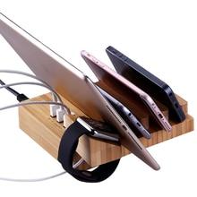 3 USB Port Multi-Function Charger Bracket Smartphone Tablet