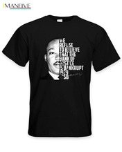 2019 Design Cotton Male Tee Shirt Designing Martin Luther King Bank of Justice Quote Mens T-Shirt - Civil Rights Political