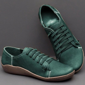 Image 5 - New Ladies Casual Shoes Classic High Quality Womens Shoes Non slip Wear resistant Large Size 43 Flat Shoes Women Leather Shoes