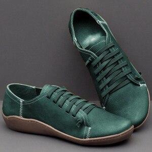 Image 5 - Nowe damskie obuwie klasyczne wysokiej jakości obuwie damskie antypoślizgowe odporne na zużycie duże rozmiary 43 płaskie buty damskie skórzane buty