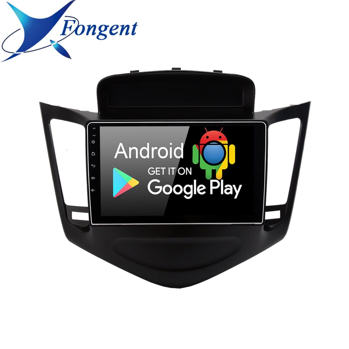 Для 2013 2014 2015 Chevrolet Cruze GPS Navi 2din автомобильный Радио сенсорный экран головное устройство 9 дюймов Android 9,1/8,1 мультимедийный плеер ПК