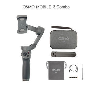 DJI Osmo Mobile 3/Osmo Mobile 3 Combo is a foldable gimbal for smartphones with intelligent
