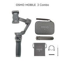 Dji osmo móvel 3/osmo móvel 3 combo é um cardan dobrável para smartphones com funções inteligentes em estoque