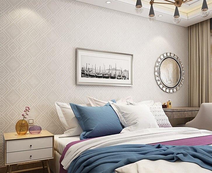 PAYSOTA moderne Plaid Texture 3D en relief papier peint chambre salon canapé TV fond décoratif papier peint rouleau