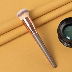 1pcs khaki Foundation Brush Face Make up Brushes Tools For Foundation Loose powder Contour Makeup Brush Women Beauty Cosmetics