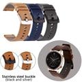 Новые Кожаные Ремешки для наручных часов 20 22 мм для Huawei Watch GT 2 42/46 ремешок быстро установить умные часы аксессуары браслет