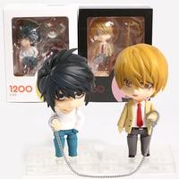 Death Note L 2,0 1200/Licht Yagami 2,0 1160 PVC Action Figure Sammeln Modell Spielzeug