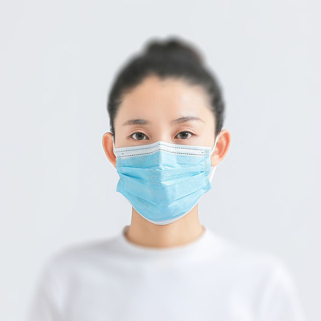 5-50 Pcs/Bag 3 Layer Non-woven Dust Mask Thickened Disposable Mouth Mask  Bacteria Proof Flu Face Masks 5