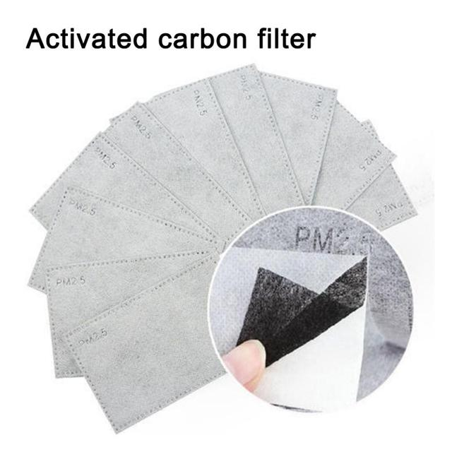 Cotton PM2.5 Mask Antidust filter activated Carbon fifter Windproof Mouth-muffle bacteria proof flu for n95 respirator ffp3 mask 1
