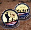 Moneda conmemorativa del primer Día del Armisticio de la guerra mundial, regalo de colección de arte de recuerdo, 1918 -2018, 100 años