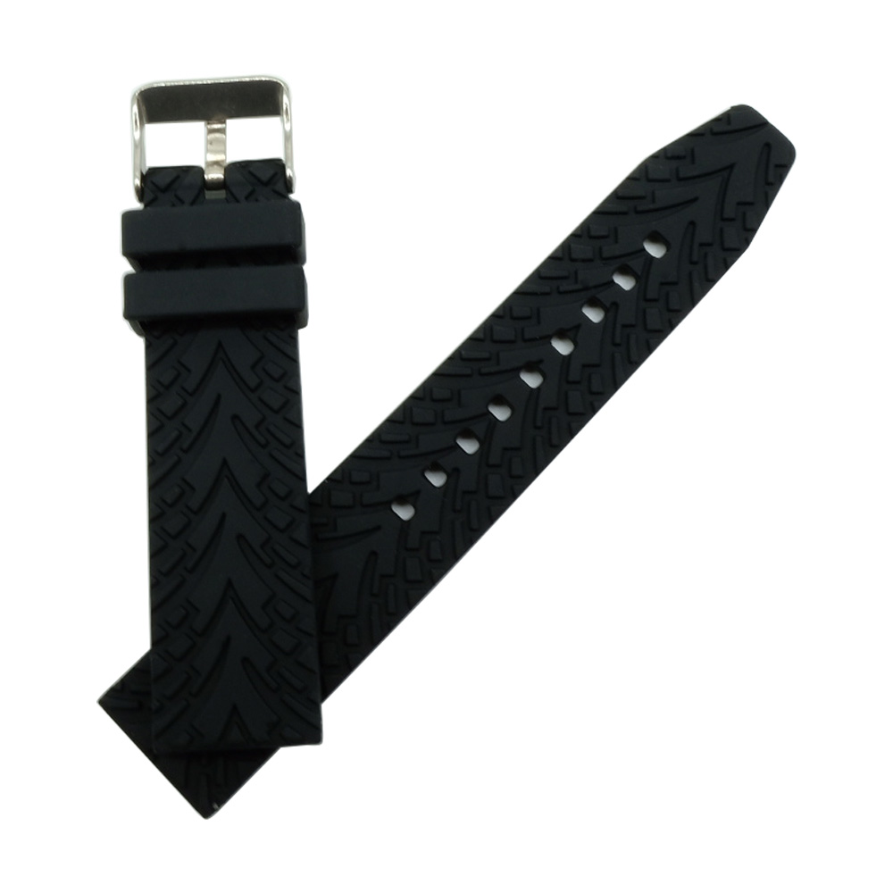 22mm Silicone Rubber Watchband Strap for Samsung Galaxy Gear 2 R380 Neo R381 Live R382 Moto 360 2 Gen 46mm Watch Band Bracelet in Watchbands from Watches
