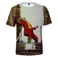 Frdun Tommy Film Joker 2019 Joaquin Phoenix Arthur Fleck 3D druck t-shirt Männer/Frauen sommer Casual Kurzarm t hemd Kleidung