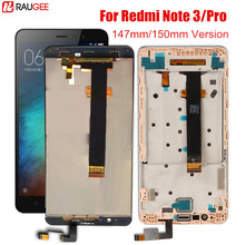 Display For Xiaomi Redmi Note 3 Pro LCD Screen With Frame Touch Display Soft key Backlight Replacement For Redmi Note 3 147MM