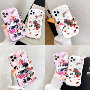 Image 4 - 2021 Disney original for iPhone7/8/ Plus X/XS/XR/XS Max 11/11 Pro / 11Pro Max Lovely Minnie Phone Case