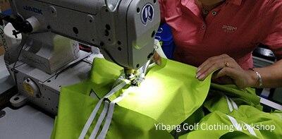 prova de vento quente mais velo golfe jaqueta de algodão M-2XL