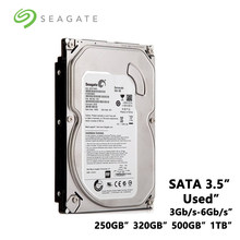 "Disco Duro mecánico interno Seagate, 250GB, 320GB, 500GB, 1TB, PC de escritorio, 3,5 "", SATA 3 Gb/s-6 Gb/s, HDD 5900-7200RPM, 8MB/32 búfer MB(China)"