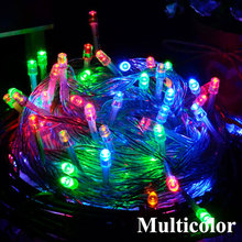 LED String Lights Garland Fairy Light 10m 30m 50m 100m Wedding Christmas Tree Lamp Decoration Outdoor Indoor Curtain Bars Party 2018 sale christmas decoration navidad christmas tree great led lighting wedding celebration decoration product 30m lamp h243
