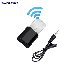 Mini Bluetooth Transmitter Receiver Portable Wireless USB Bluetooth Adapter 3.5mm AUX Stereo Audio Receiver For Car Music For TV hot sale universal 3 5mm car bluetooth audio music receiver adapter auto aux streaming a2dp kit for speaker headphone