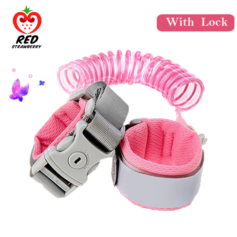 Rope Hand-Belt-Band Wrist-Link Safety-Harness Baby-Strap Toddler Leash Anti-Lost Walking