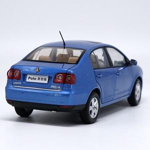 Image 5 - 1:18 גבוהה מוקפד פולקסווגן POLOSedan סגסוגת דגם רכב סטטי מתכת דגם כלי רכב עם קופסא מקורית עבור אספנות מתנה