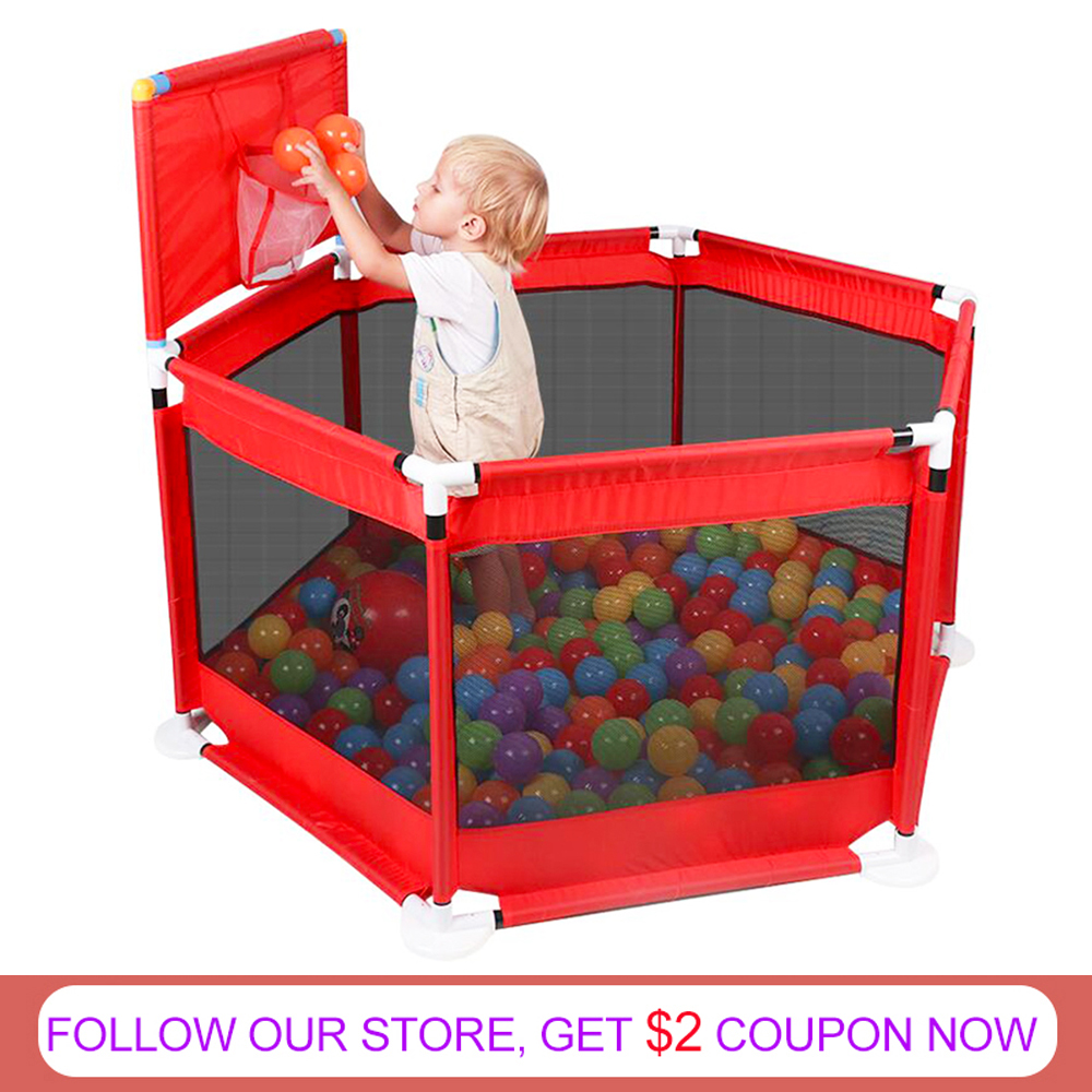 Baby Playpen For Children Pool Balls For Newborn Baby Fence Playpen For Baby Pool Children Playpen Kids Safety Barrier Baby Tent