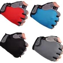 Gloves-Accessories Bike-Gloves Anti-Slip Half-Finger Breathable Sports Women Short Shock
