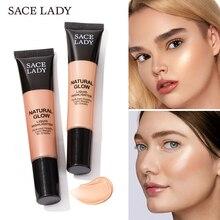 SACE LADY Liquid Highlighter waterproof Makeup Face Illuminator Cream Brighten Shimmer MakeUp Beauty Glow Kit