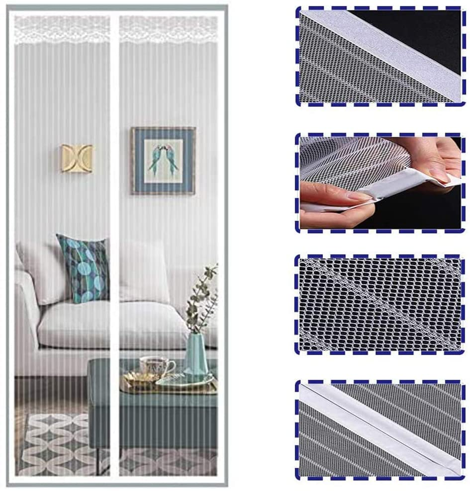 Summer Anti Mosquito Insect Fly Bug Curtains Magnetic Net Automatic Closing Door Screen Kitchen Curtain Drop Shipping