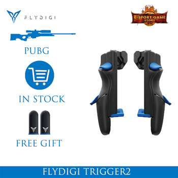 Flydigi Trigger 2 Mobile Game Button Controller Six-Finger Artifact iOS Android PUBG High-Speed Shoot Automatic Pressure Gun