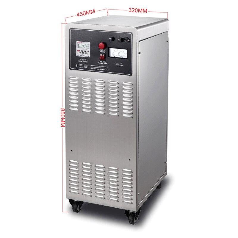 Industrielle Ozon Generator Luft Purifier Sterilisator 50g Beweglichen Dual schalter Ozonisator Sterilisator Fan Hotel Sterilisation YJF-039