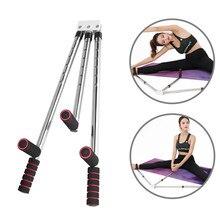 3 barra perna maca divisão ajustável máquina de alongamento em casa aço inoxidável yoga dança exercício flexibilidade equipamento treinamento