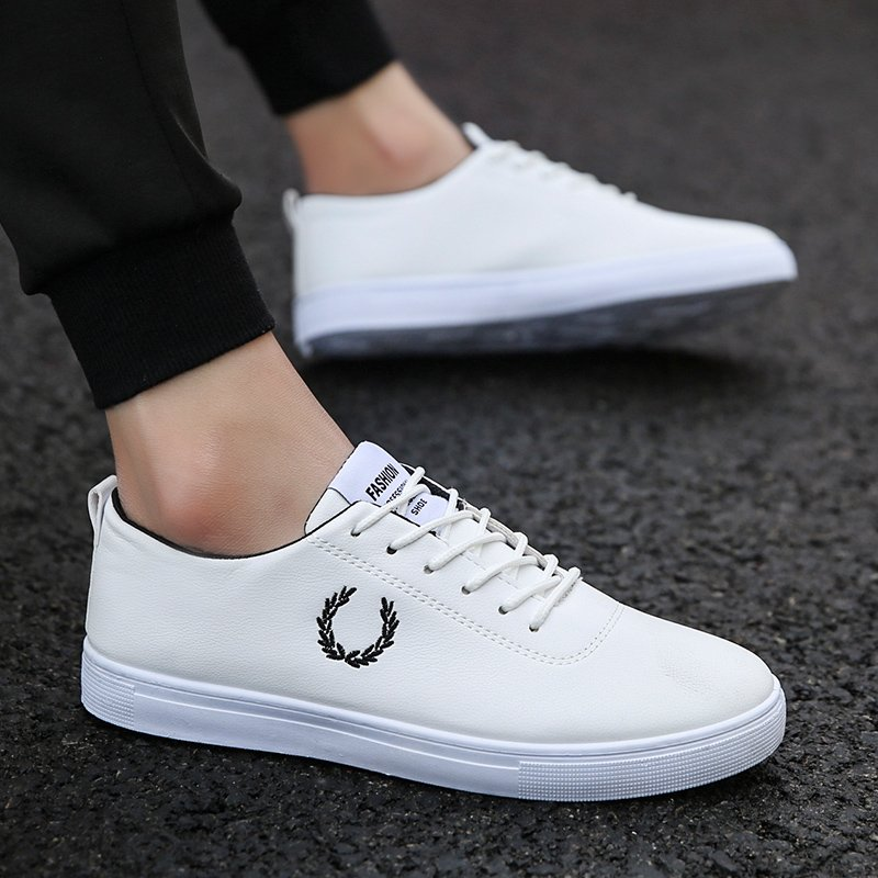 Cosice Mens Winter Sneakers Plush White/black Boys School Shoes Leather Sneakers Mans Fashion Cheap Shoes