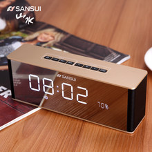 Wireless Bluetooth Speaker Small Large Volume Outdoor Home Portable Computer Mobile Phone Car Alarm Clock Radio(China)