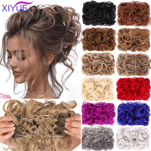 Hair-Extension Chignon Updo-Cover Curly Clip-In LARGE XIYUE Women Comb
