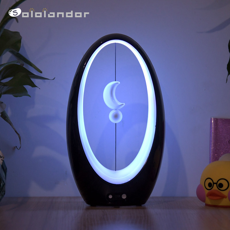 2020 Newest Heng Balance Lamp LED Night Light USB Powered Home Decor Bedroom Office Table Night Lamp Novel Light Gift For Kids