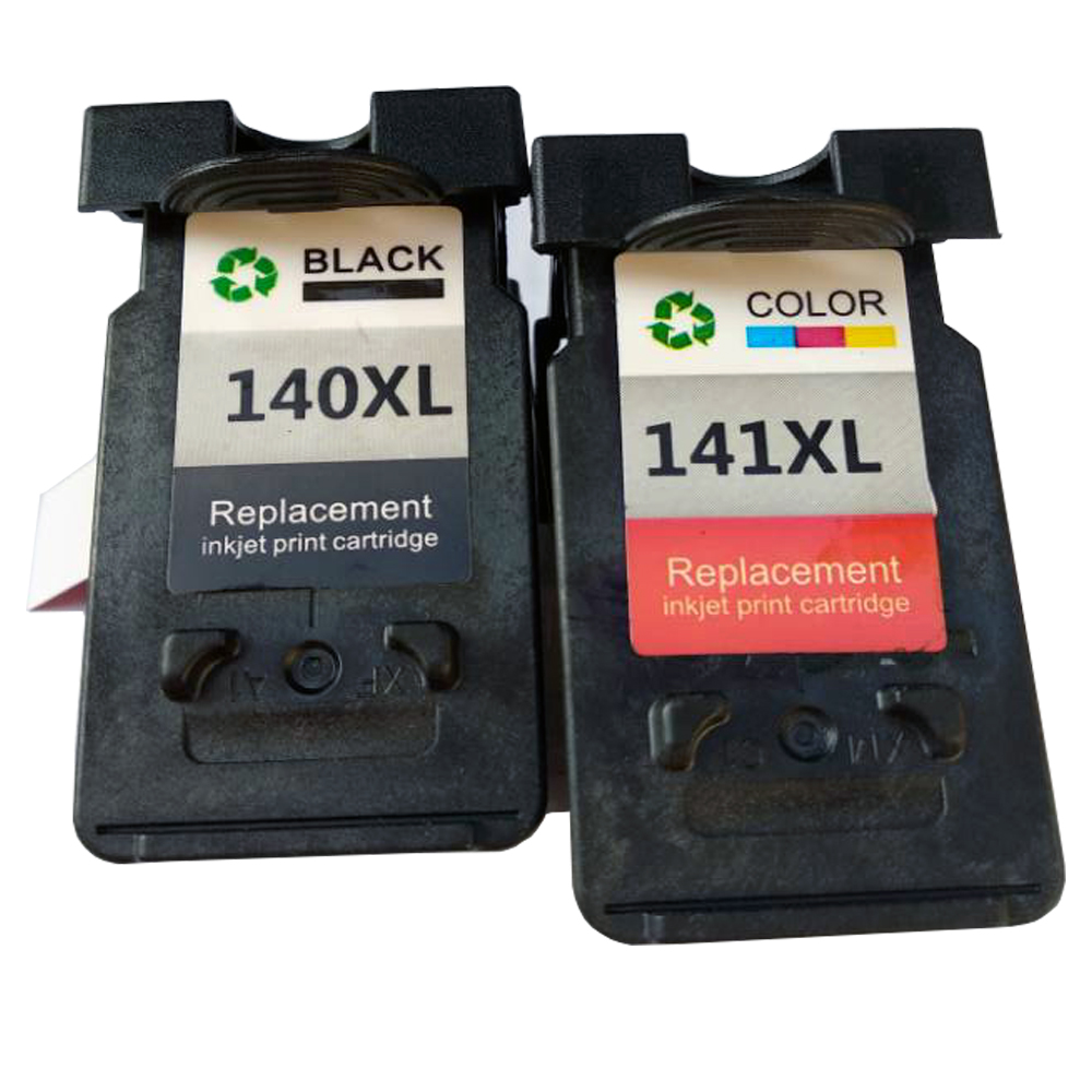 PG-140 CL-141 Refilled Ink Cartridge For Canon PG140 CL141 Pixma IP2880 MG2580 MG2400 MG2500