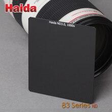 광학 유리 84mm x 95mm ND 1.8 64x, 3.0 1000x 삽입 중립 밀도 6 10 스톱 필터 83 시리즈 Cokin P 시스템 용