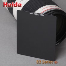 Optical Glass 84mm x 95mm ND 1.8 64x, 3.0 1000x Insert Neutral Density 6 10 Stop Filter 83 Series for Cokin P System