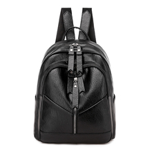 Women's backpack Fashion shoulder bag large capacity women backpack high quality leather school bag for teenage girls Daypacks