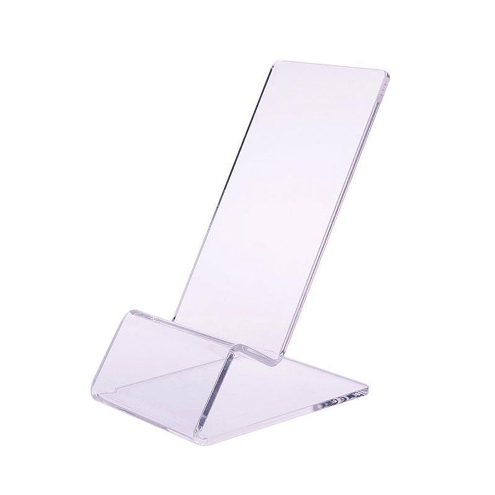 Clear Acrylic Phone Mount Holder Mini Portable Display Stand Rack Stand For Cell Phone Display D Kaarthouder Display Stand
