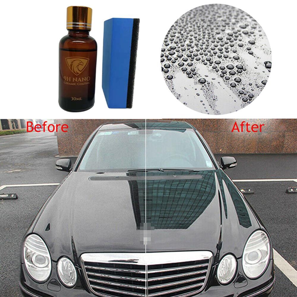 OLOMM Ceramic Car Coating Liquid Glass 9H Waterproof Nano Hydrophobic Car Polish Anti-scratch Motorcycle Paint Care Protector