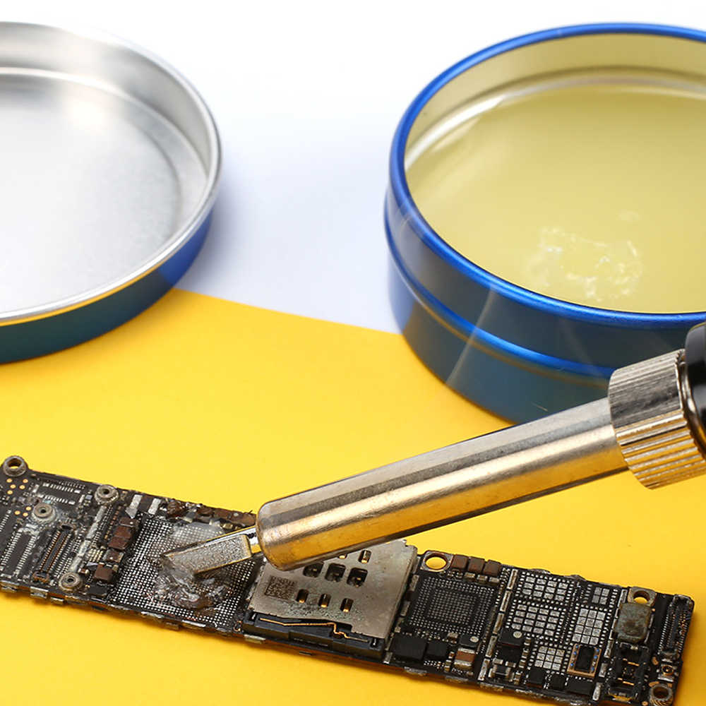 Fluxo bonde da solda do ferro de solda do fluxo da lata de solda bga da pasta do não-limpo do mecânico MCN-UV80 fluxes para o pwb/bga/pga/smd
