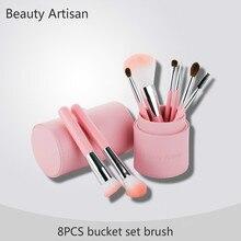 Beautiful Artisan Makeup Brush Set Beginner Animal Hair Makeup