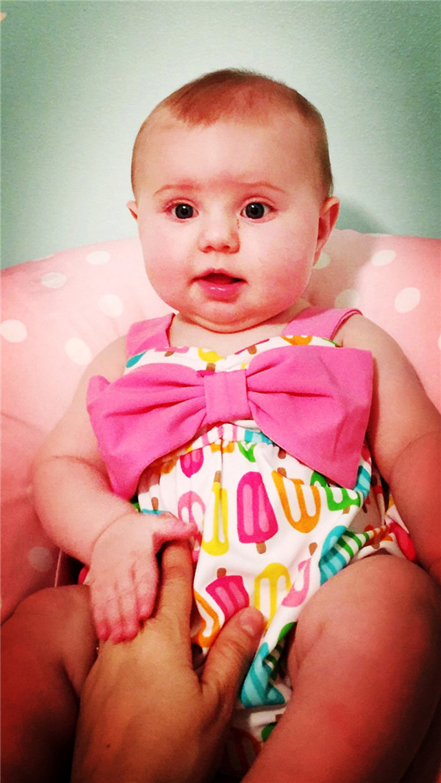 KID'S Swimwear 1-3 Years Old Women's Infants INS Baby Bathing Suit GIRL'S Swimsuit Small CHILDREN'S Dacron Bathing Suit 0-1-Year