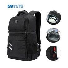 DENUONISS mochila térmica para Picnic para mujer y niño, bolsa térmica para exteriores, senderismo, 2 compartimentos