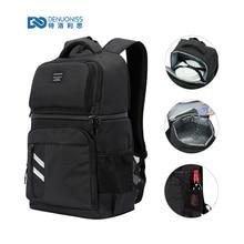 DENUONISS sac à dos isotherme pour femmes, sac isotherme, pour enfants, 2 compartiments, pour randonnée en plein air